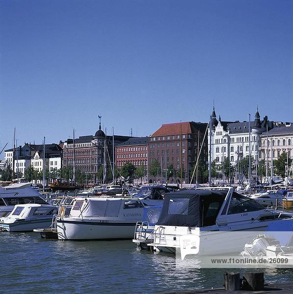 Yachten im Hafen, Helsinki, Finnland
