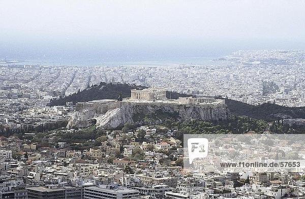Vogelperspektive blick auf die akropolis athen griechenland lizenzpflichtiges bild - Vogelperspektive englisch ...
