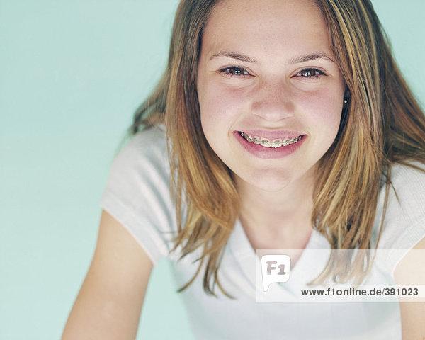 Portrait of Teen Woman