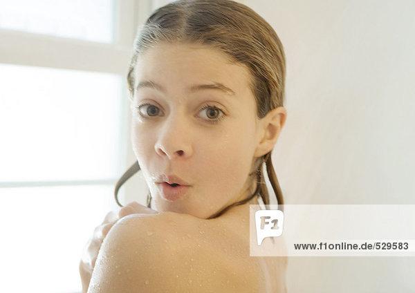 Duschen Mädchen