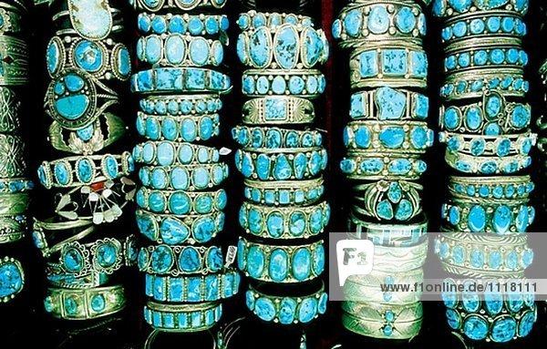Türkis schmuck  Navajo Türkis- und Silber Schmuck in Bill Richardson´s ...