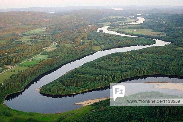Schweden Flüsse