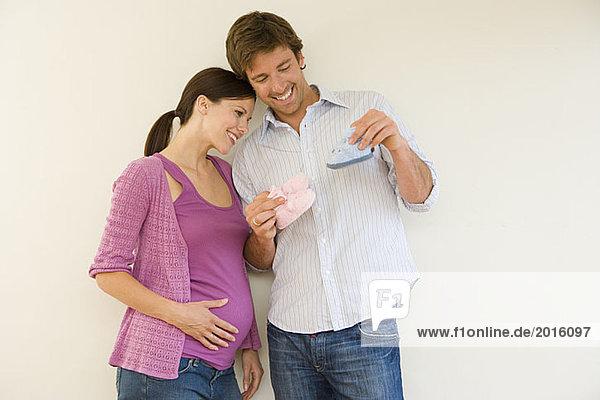 Фото беременные с парнем