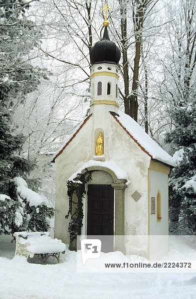 Bayern : Kapelle - Schnee