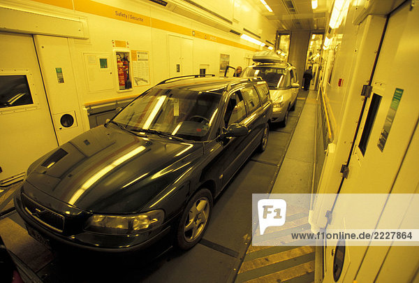 Eurotunnel Auto Durchfahren