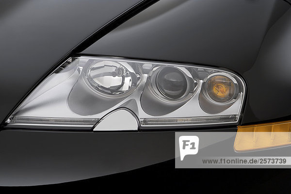 2008 bugatti veyron 16 4 in black headlight rights managed image f1onli. Black Bedroom Furniture Sets. Home Design Ideas