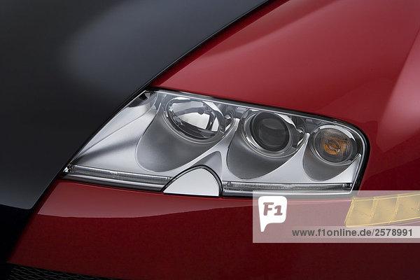 2006 bugatti veyron 16 4 in black headlight lizenzpflichtiges bild f1on. Black Bedroom Furniture Sets. Home Design Ideas