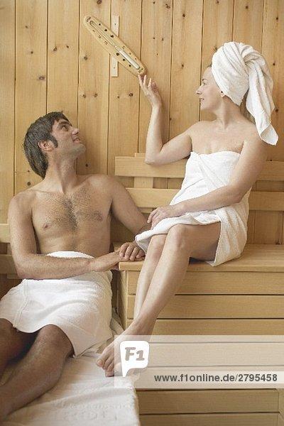 Frau drehte sich um Erotik