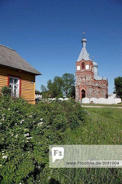 Ansiedlung,Architektur,Aussen,Aussenseite,Baltikum,Dorf