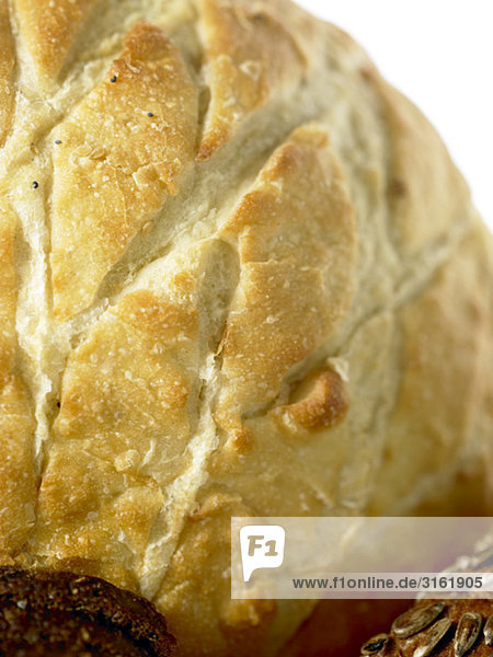 Weiße knusprigem Brot