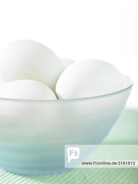 Rohkost, Eier