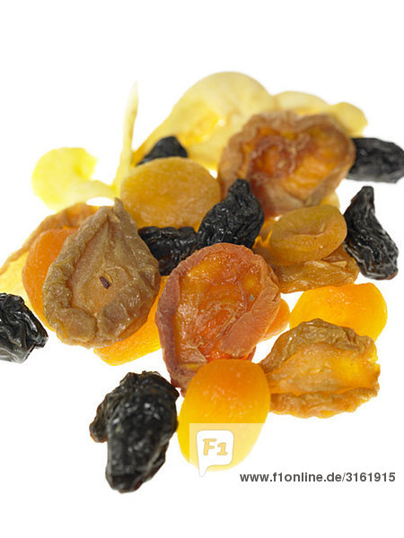 Rohkost, getrockneten Früchten gemischt