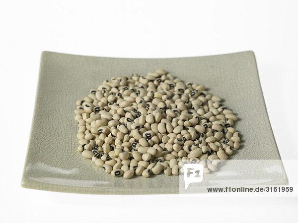 Platte Blackeye Bohnen