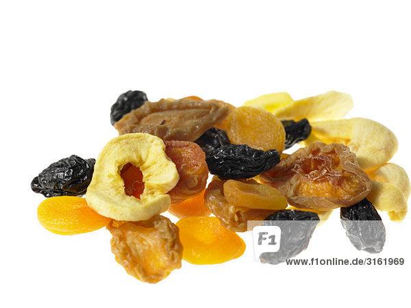 Mischungen von getrockneten Früchten