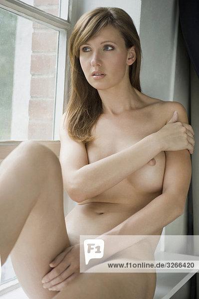 nackt madchen frau portrat