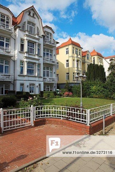 Architektonisch,Architektur,Baederarchitektur,Bansin,Bergstraße,Deutschland