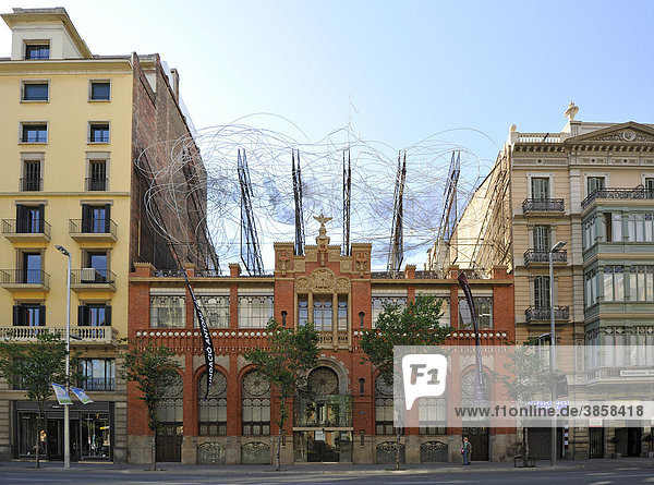 Barcelona europa katalonien n vol i cadira spanien stiftung fundaci antoni t pies - Cadira barcelona ...