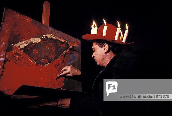 Arbeit Beruf Brennen B Hnenbild Dekoration Dunkel