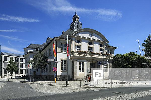 deutschland hennef nordrhein westfalen altes rathaus europa lizenzpflichtiges bild. Black Bedroom Furniture Sets. Home Design Ideas