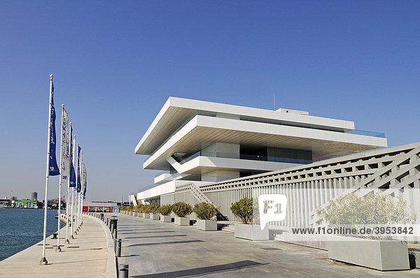 Architekt david chipperfield europa geb ude hafen port for Architektur valencia
