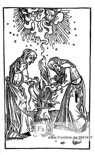 Mittelalter Hexe