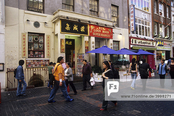 chinesisch einkaufen in chinatown england europa gerrard street gro britannien london soho. Black Bedroom Furniture Sets. Home Design Ideas