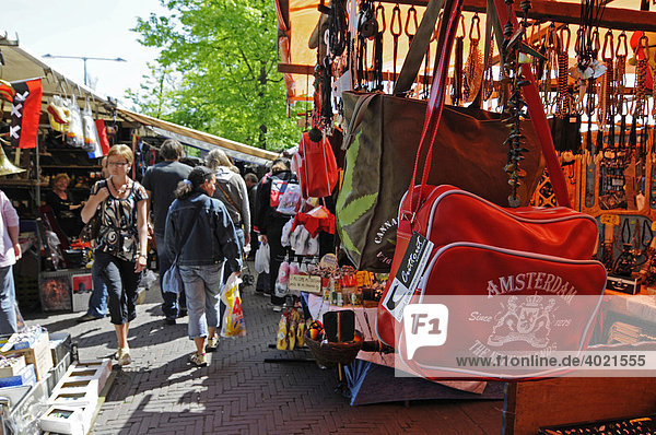 amsterdam europa flohmarkt holland kleidermarkt souvenir tasche wochenmarkt. Black Bedroom Furniture Sets. Home Design Ideas