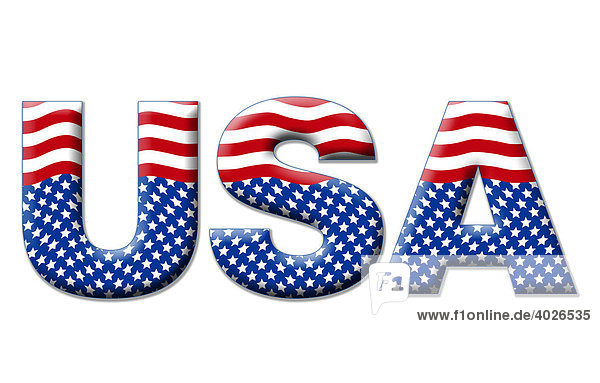 Amerika amerikanische Politik Symbol fr USA US Flagge Stars