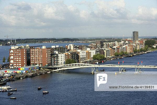 Amsterdam java eiland javakade niederlande moderne for Moderne wohnhauser