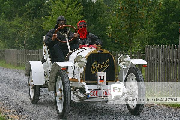 oldtimer opel rennwagen baujahr 1910 bei kaiserpreisrennen 2007 bad homburg hessen deutschland. Black Bedroom Furniture Sets. Home Design Ideas