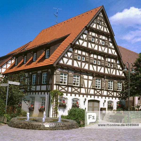 Alt,Ansiedlung,Architektur,Aussen,Deutschland,Dorf