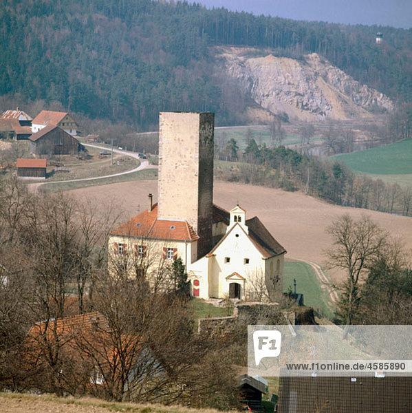 Ansiedlung,Architektur,Aussen,Bayer,Bayerischer Wald,Bayern