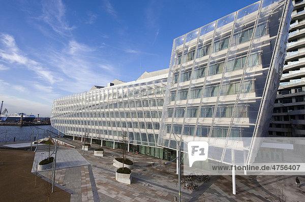 deutschland energiesparhaus erbaut vom architekturb ro behnisch europa hamburg strandkai 1. Black Bedroom Furniture Sets. Home Design Ideas