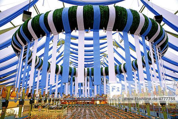 Bayern deutschland europa m nchen spatenbr u for Festzelt dekoration