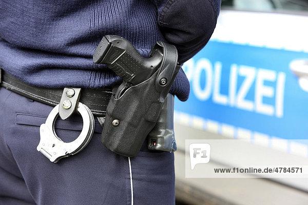 Polizei Holster