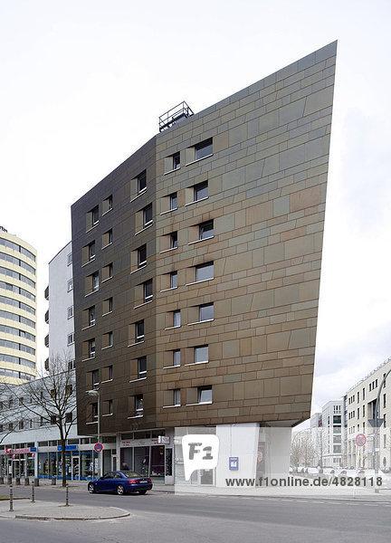 berlin deutschland europa internationale bauausstellung kreuzberg wohnhaus von zaha hadid. Black Bedroom Furniture Sets. Home Design Ideas
