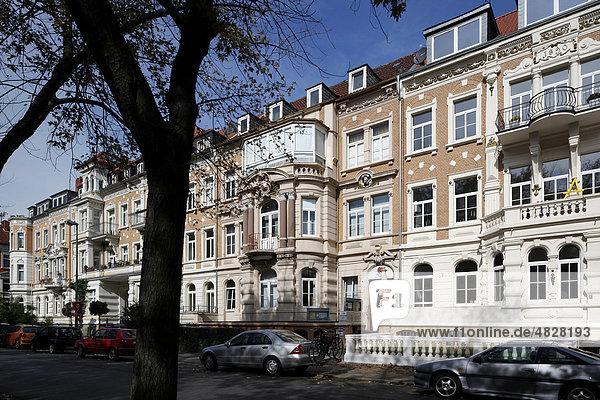 braunschweig deutschland europa niedersachsen gr nderzeit bebauung an der jasperallee. Black Bedroom Furniture Sets. Home Design Ideas