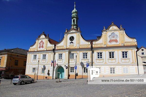 Rathaus,Europa,Tschechische Republik,Tschechien,Stadthalle