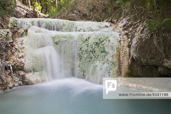 Wasserfall ,Ansicht ,Veranda ,Sinter
