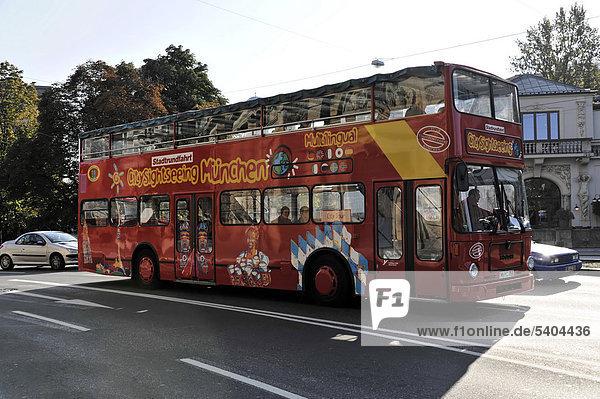 bayern deutschland europa m nchen stadtrundfahrt touristenbus citysightseeing bus. Black Bedroom Furniture Sets. Home Design Ideas