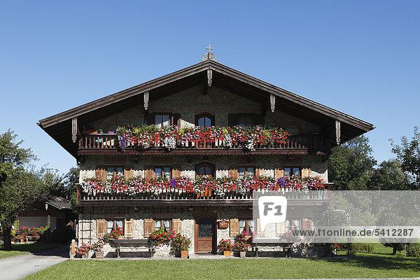 bayern brannenburg deutschland europa inntal oberbayern ffentlichergrund bauernhaus mit. Black Bedroom Furniture Sets. Home Design Ideas
