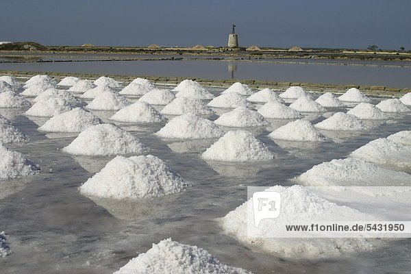 Saltworks On Sicily Salt Extraction Of Sea Water Salt