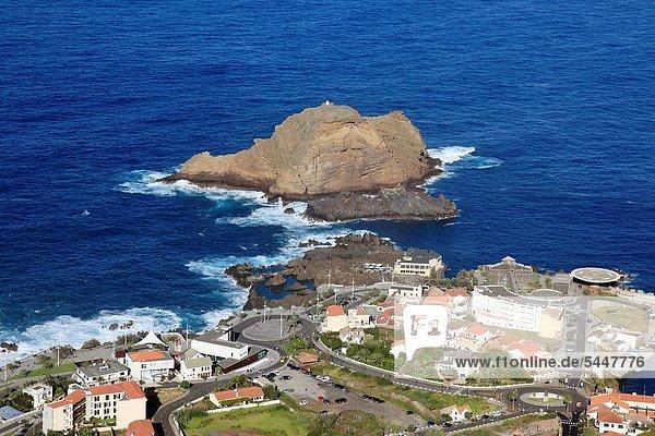 Europa,Großstadt,Insel,Ansicht,Luftbild,Fernsehantenne,Madeira,Porto,Portugal