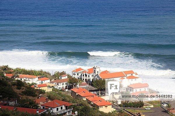 Europa,Ozean,Großstadt,Kirche,Atlantischer Ozean,Atlantik,Jesus Christus,Heiligtum,Madeira,Portugal