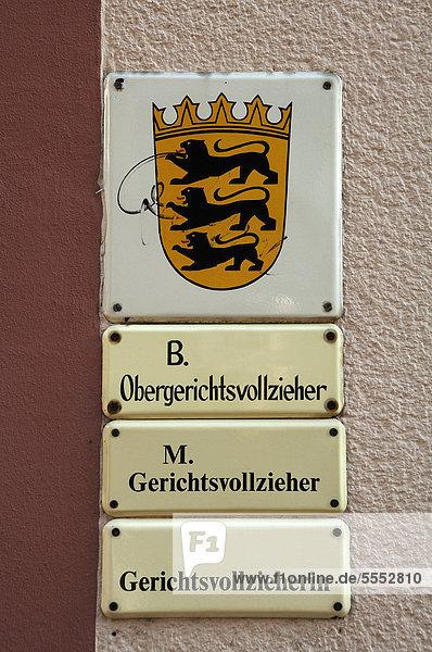 das landeswappen von badenw252rttemberg und