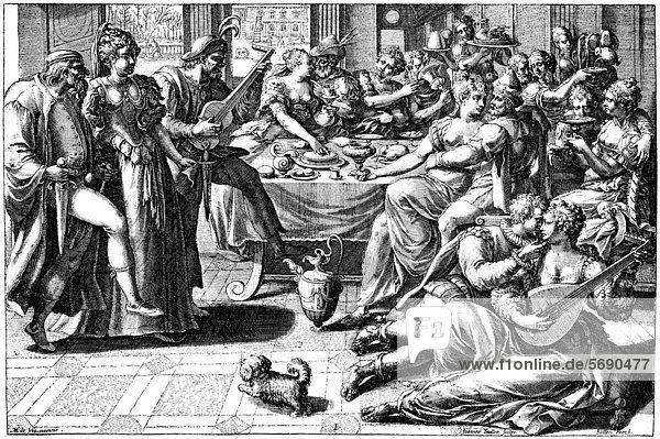 historische zeichnung aus dem 19 jahrhundert