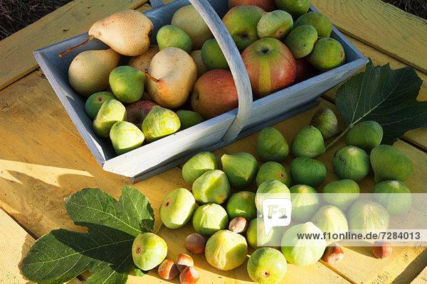 Frische ,Korb ,Birne ,Apfel