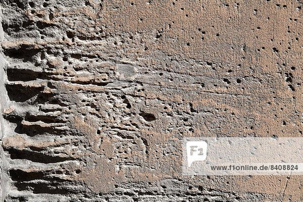 Fassade frontal  Absperrung,Fassade,frontal,Fuge,Gestein,Material - Lizenzfreies ...