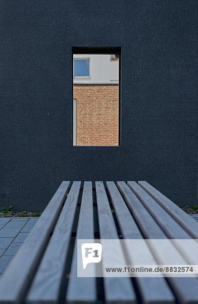 Fassade frontal  Bank ,Aachen ,Deutschland ,Dunkelheit ,Fassade ,frontal ,Nordrhein ...
