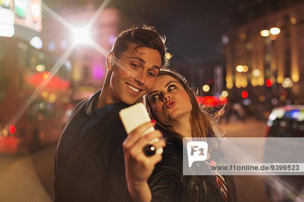 Handy,Zusammenhalt,Fotografie,nehmen,Nacht